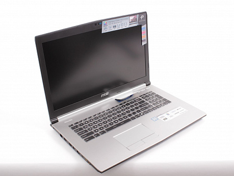 "Ноутбук 17,3"" MSI PE70 6QE-062 Intel Core i7 6700HQ/8Гб/1Тб/nV GTX960M-2Gb/1920×1080/DVD-RW/Windows 10/серебристый | Квартон - КВАРТОН"